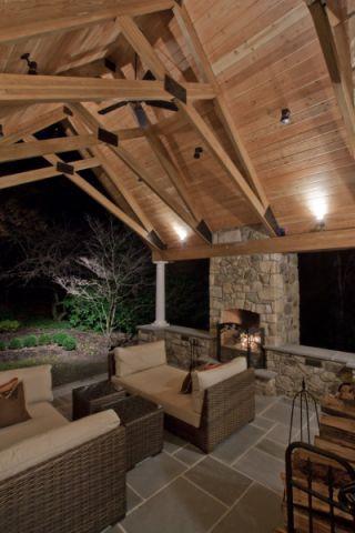 2020美式150平米效果图 2020美式庭院装修效果图大全