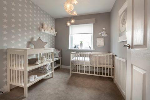 儿童房现代风格效果图大全2017图片_土拨鼠大气雅致儿童房现代风格装修设计效果图欣赏