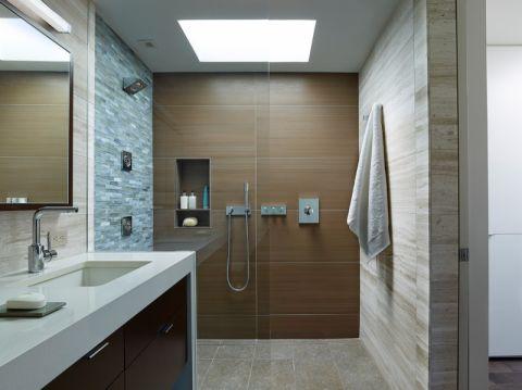 浴室现代风格效果图大全2017图片