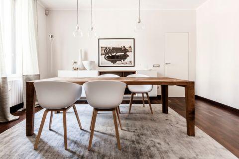 餐厅现代风格效果图大全2017图片_土拨鼠时尚沉稳客厅现代风格装修设计效果图欣赏