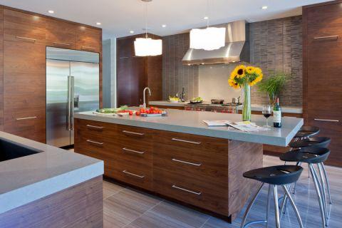 2021现代150平米效果图 2021现代别墅装饰设计