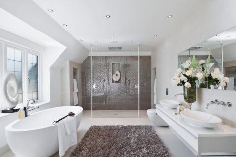 浴室現代風格效果圖大全2017圖片