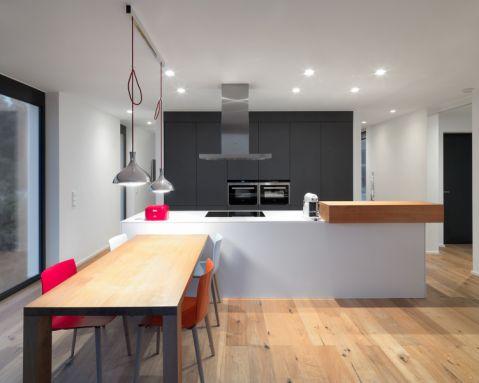 廚房現代風格效果圖大全2017圖片