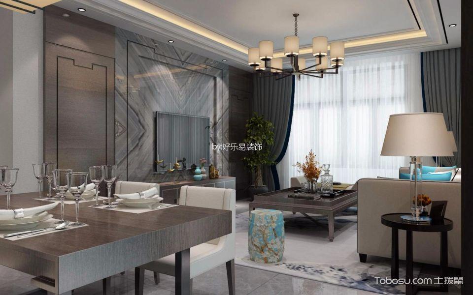 2021简中110平米装修设计 2021简中二居室装修设计
