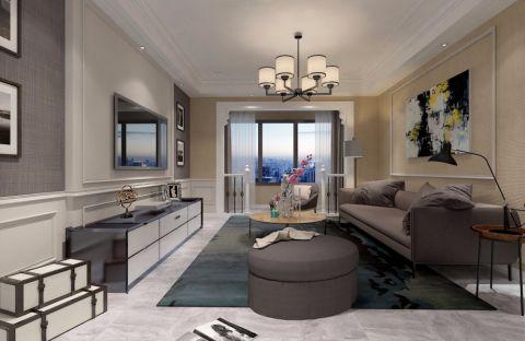 客厅飘窗欧式风格装饰设计图片