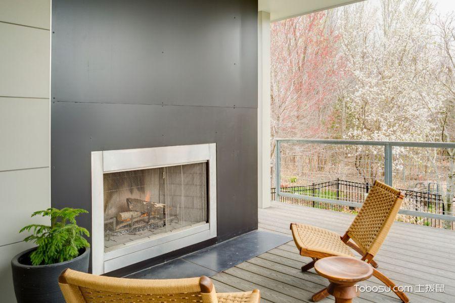 阳台现代风格装潢设计图片