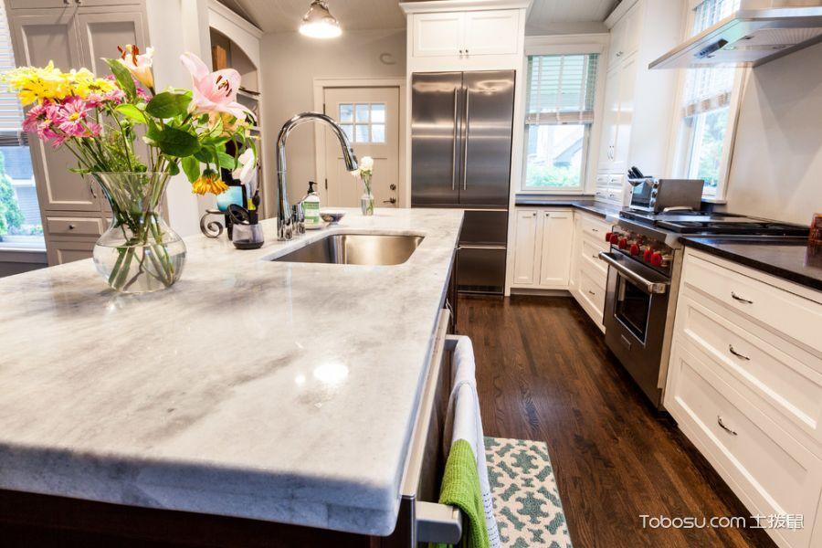 厨房咖啡色厨房岛台混搭风格装修设计图片