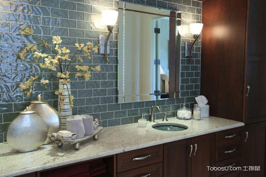 浴室混搭风格装潢图片