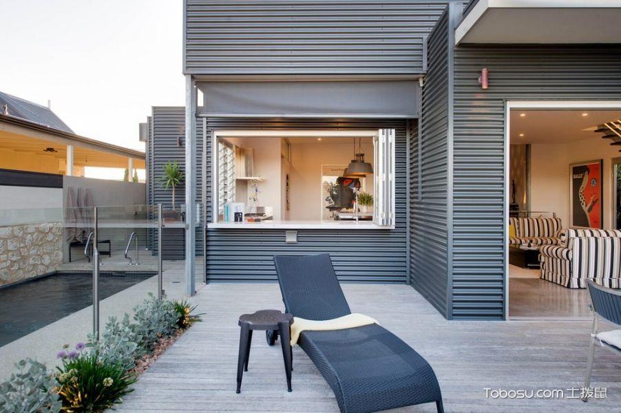 阳台灰色细节现代风格装修设计图片