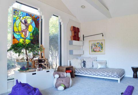 儿童房床混搭风格装潢设计图片