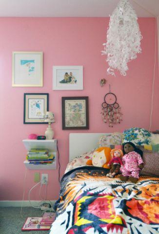 儿童房照片墙混搭风格效果图