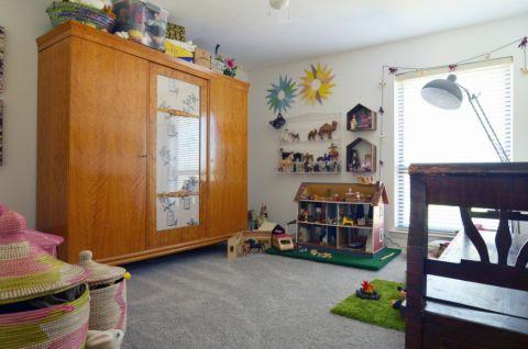 儿童房衣柜混搭风格装修效果图