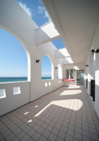 阳台地砖地中海风格装饰效果图
