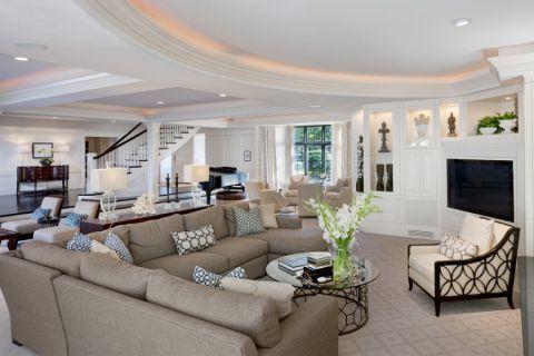美式风格庭院300平米装饰设计图片