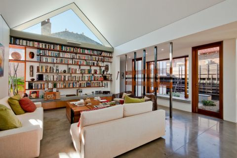 一居室66平米现代风格装修图片