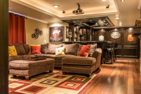 别墅300平米美式风格装修图片