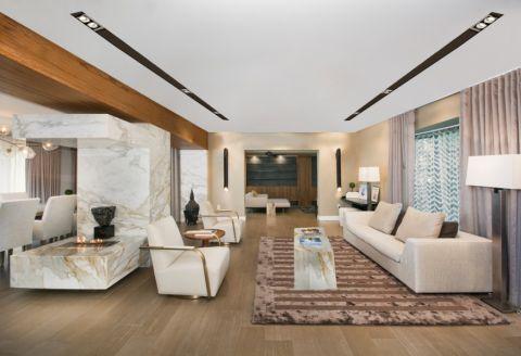 庭院173平米现代风格装潢效果图