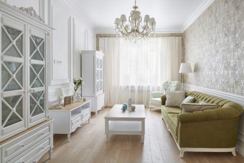 2020美式70平米设计图片 2020美式公寓装修设计