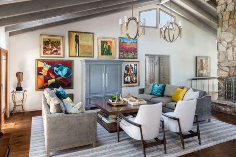 2020混搭90平米装饰设计 2020混搭四居室装修图