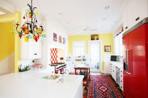 厨房混搭风格装潢图片