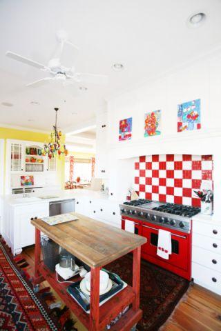 厨房混搭风格装修设计图片