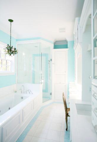 浴室混搭风格装饰设计图片