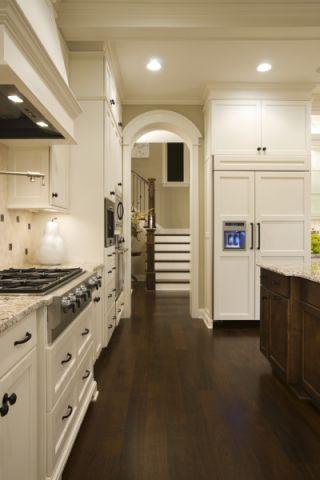 厨房橱柜美式风格装潢效果图
