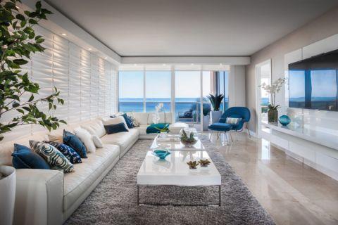 130平米公寓现代风格装修图片