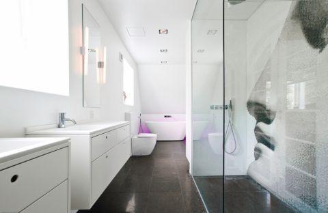 公寓99平米现代风格装修图片