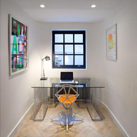 书房地板砖现代风格装潢效果图