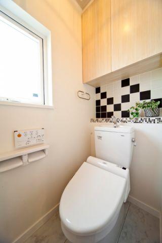 卫生间背景墙北欧风格装潢效果图