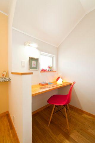 书房地板砖北欧风格装潢设计图片