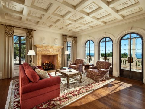 地中海风格庭院300平米装修图片