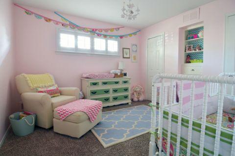 儿童房照片墙美式风格效果图