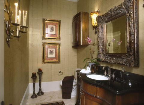 浴室照片墙地中海风格装潢图片