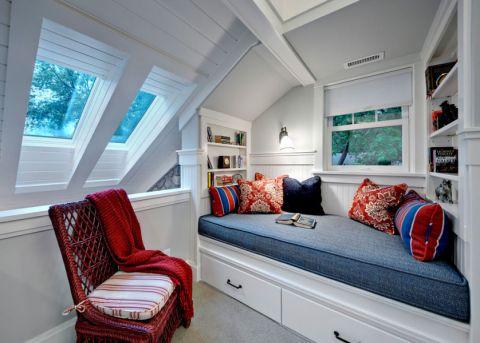 89平米二居室美式风格装修图片