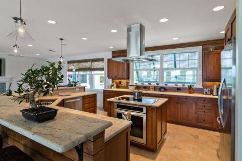 厨房吊顶美式风格效果图