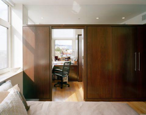 卧室地板砖现代风格装潢设计图片