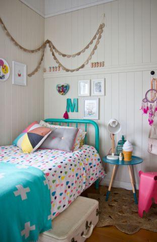 儿童房照片墙混搭风格装饰效果图