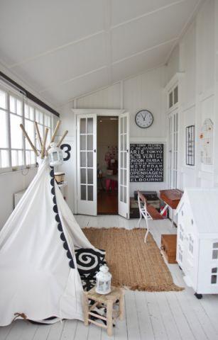 儿童房吊顶混搭风格装潢效果图