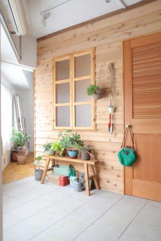 玄关地砖现代风格装潢效果图