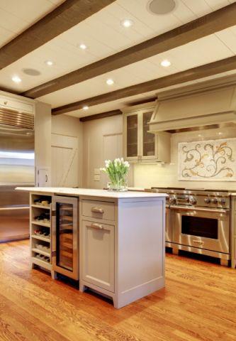 厨房厨房岛台地中海风格装潢设计图片