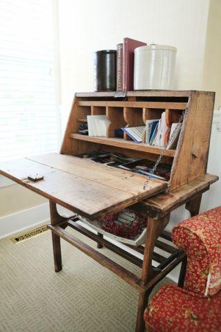 客厅书桌美式风格装饰效果图