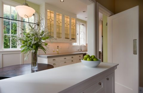厨房吧台美式风格装修设计图片