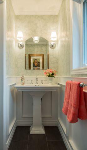 卫生间地砖美式风格装潢效果图