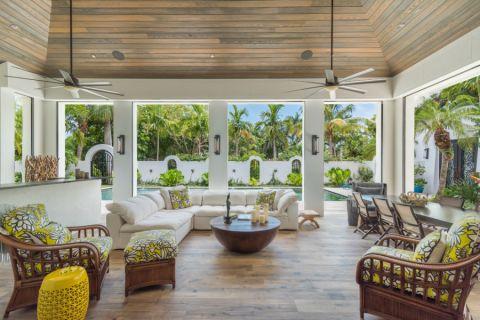 别墅300平米地中海风格装饰效果图