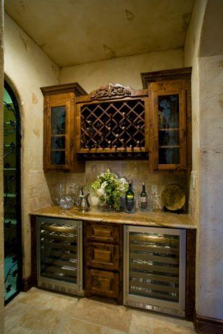 餐厅吊顶地中海风格装饰设计图片