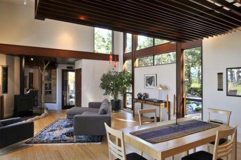 庭院142平米现代风格装饰实景图