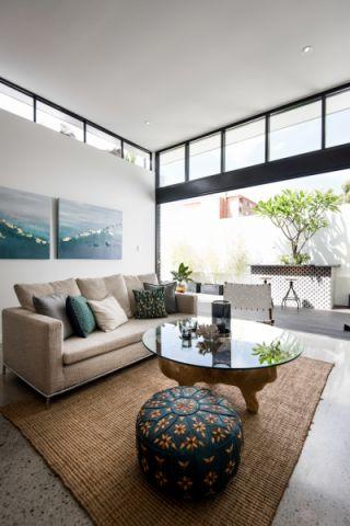 庭院292平米现代风格装潢实景图