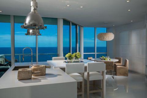 144平米套房现代风格装饰实景图片